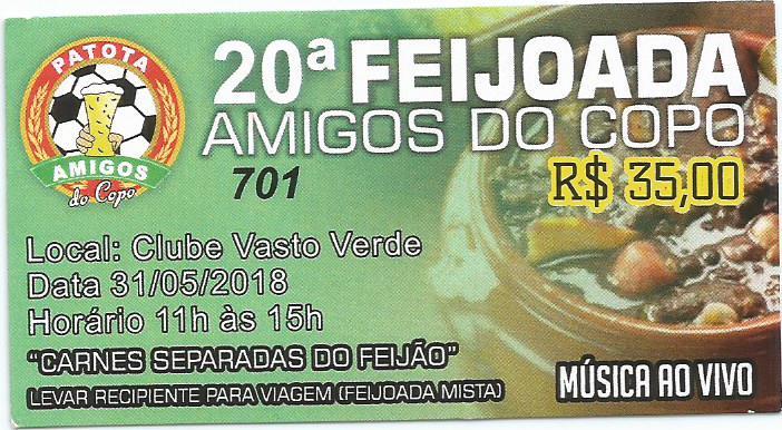 20ª FEIJOADA AMIGOS DO COPO