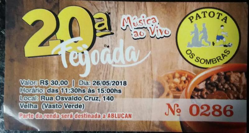 20ª FEIJOADA PATOTA OS SOMBRAS