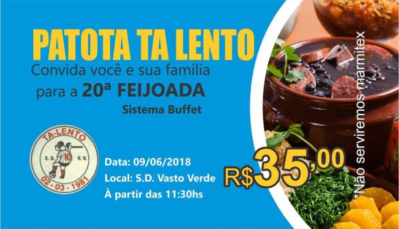 FEIJOADA PATOTA TALENTO  09/06/2018