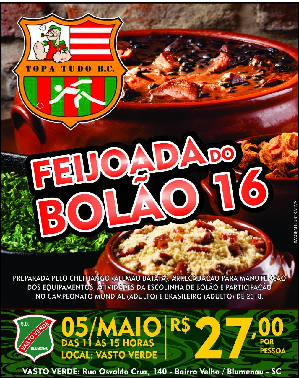 FEIJOADA DO BOLÃO 16