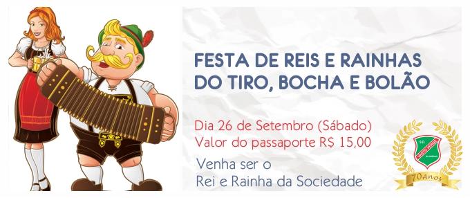 SOCIEDADE DESPORTIVA VASTO VERDE FESTA DE REIS E RAINHAS DO TIRO, BOCHA E BOLÃO