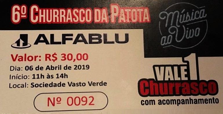 6º CHURRASCO DA PATOTA
