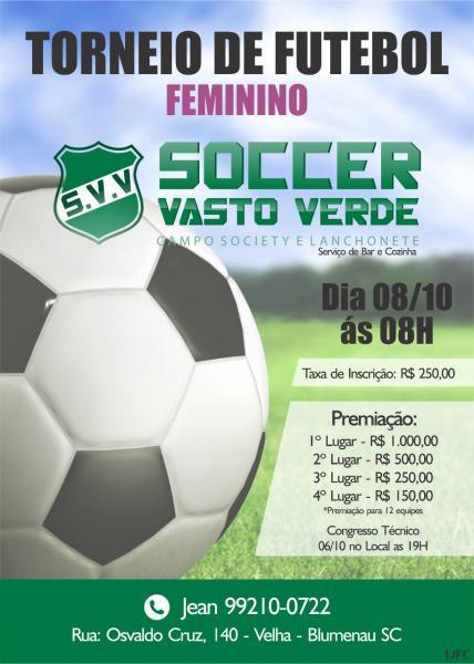 Torneio de Futebol Feminino