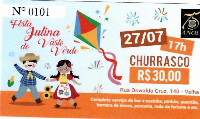 FESTA JULINA DO VASTO VERDE 2019