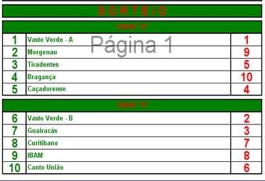 Torneio Interestadual Bolão 16