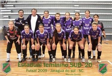 Futsal Feminino Estréia no Estadual SUB 20