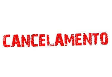 Cancelamento da rodada do Campeonato de Futebol - Taça Jurandy Reinhold Prada